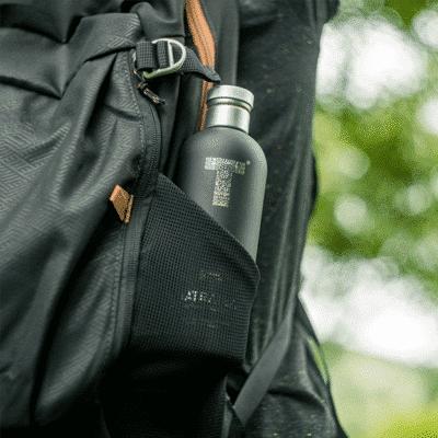 tatratea in backpack